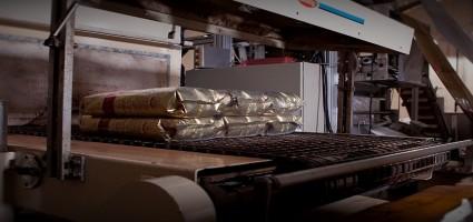 Производствен капацитет 440 тона месечно